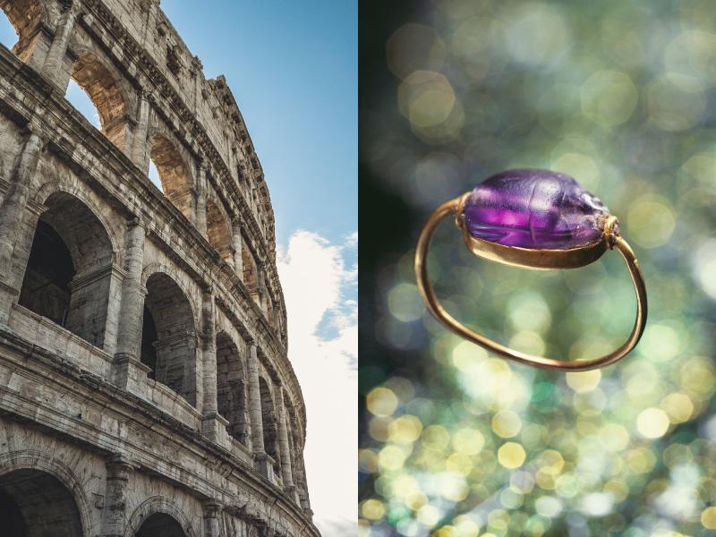 婚約指輪のはじまりは2千年前
